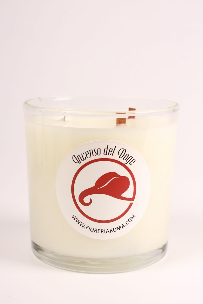 candela profumata incenso del doge