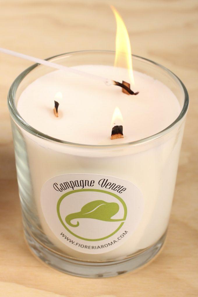 candela profumata campagne di jesolo